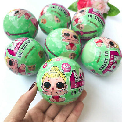 LOL Surprise Doll 7 Layers Inside Series L.O.L Ball Xmas Gifts Para Kids