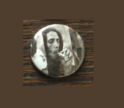 Bob Marley Button Reggae Joint