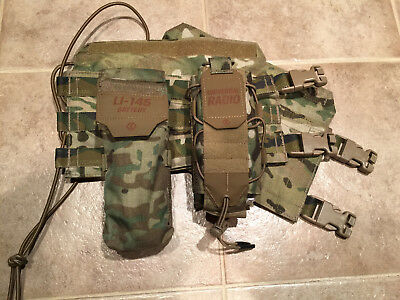 Eagle Industries Custom side Plate Carrier Cummerbund -DEVGRU SEAL SOF RARE +