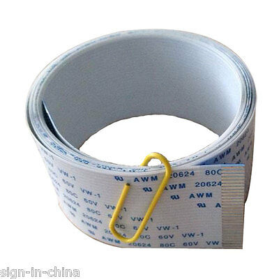 Mutoh VJ-1604 / 1614 Rafstation Panel Cable Assy--28pin, 2.4m
