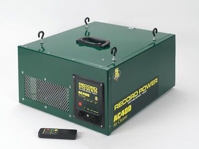 Record Power AC400 Three Stage Air Filter with Remote 3 Speeds and Time Delay