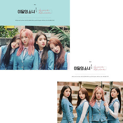 MONTHLY GIRL LOONA 1/3 [LOVE&LIVE] 1st Mini Album NORMAL/LIMITED CD+P.Book+Card