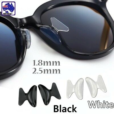 5 Pair Silicone Stick On Nose Pads Holders Sunglasses Glasses Spectacles JGLP857