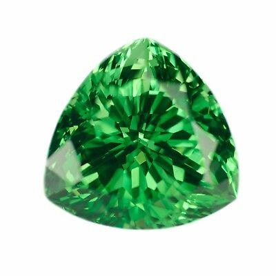 14.35ct Tsavorite Lab Created Green Garnet (YAG) Loose Stone