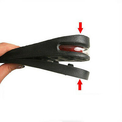 Four Layers Adjustable Height Increase Insole Heel Lift Gain Altitude Shoe Pad