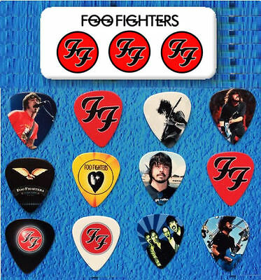 FOO FIGHTERS-- Guitar Pick Tin includes 12 Guitar Picks  *Limited Edition*