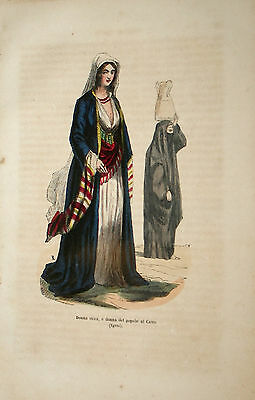 Noble woman of Cairo - Egypt - Dally 1845