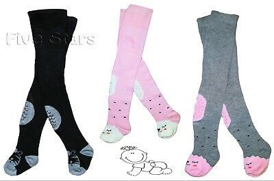 Baby Toddler Kid Boy Girl Cotton Tights Anti Slip Leg Warmers 0-6-12-18 months