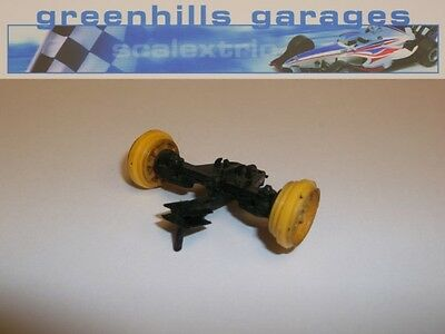 Greenhills Scalextric Lotus Formula Junior C67 Front Guide Assembly & Wheels ...