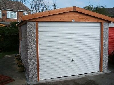 Concrete Garage Apex Delivered To Birmingham And Many More Postcodes