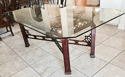 Vintage Chinese Chippendale dining table Century Furniture Company