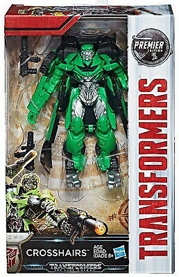 Transformers The Last Knight Deluxe Premier Wave 3 Crosshairs Action Figure