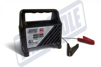Maypole MP7404 COMPACT BATTERY CHARGER 4A 12V