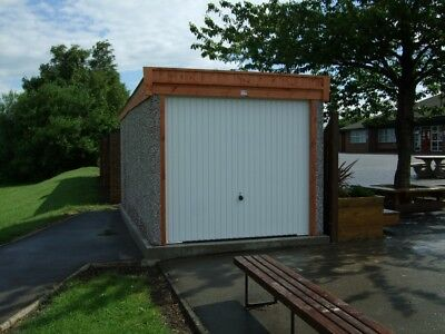 Concrete Garage Pent Delivered To Birmingham And Many More Postcodes