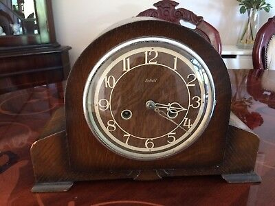 Antique Enfield Mantel Clock. Collection Only