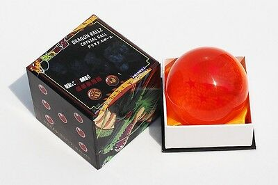 Dragon Ball Z 4 Star Crystal Ball Big Size DIN:3.0 Inch(7.5CM) In Box