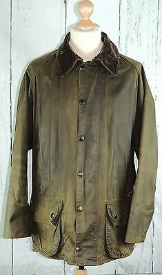 """Men's Barbour Classic Beaufort Wax Jacket Hunting/shooting/fishing - Chest 44"""""""