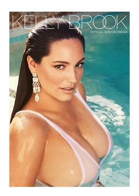 Kelly Brook 2018 Calendar Official Large A3 Size Uk Wall + Free Uk Postage