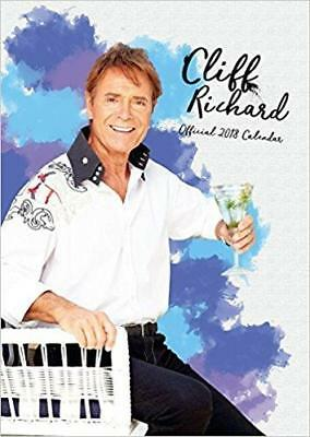 Cliff Richard 2018 Calendar Official Large A3 Size Uk Wall + Free Uk Postage