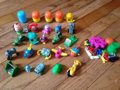Mixed Lot of 20 Kinder Surprise Egg Toys with Extras FREE SHIP