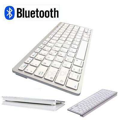 Tastiera Wireless Bluetooth Keyboard Ultra Slim per Apple iMac iPhone iPad PC La