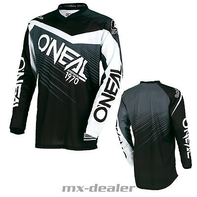 O'Neal Element Kinder Jersey Race schwarz Kids Trikot MX DH MTB BMX Motocross