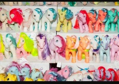 Vintage My Little Pony Collection