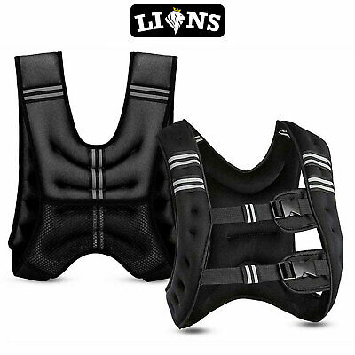 Weighted Jacket Vest Home Gym Running Fitness Weight loss Strength
