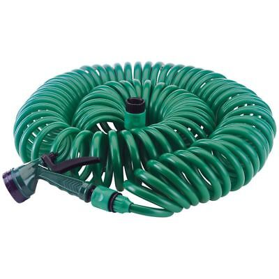 Draper 20m Recoil Hose With Spray Gun And Tap Connector 80496