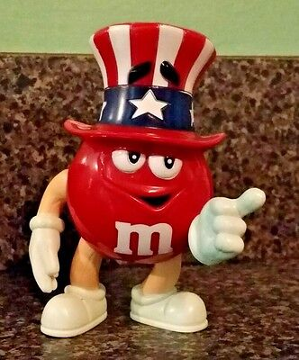 M&M Patriotic Character ***PROMO ITEM*** RARE!!! 4th July Uncle Sam AMERICA!