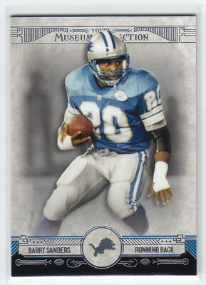 2014 Topps Museum Collection #3 Barry Sanders