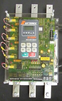 SAFTRONICS EZS 80 STACK EZ START Solid State Starter 200-600V 80 Amp Soft Start