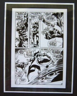 Original Production Art DAREDEVIL #55, page 17, GENE COLAN art