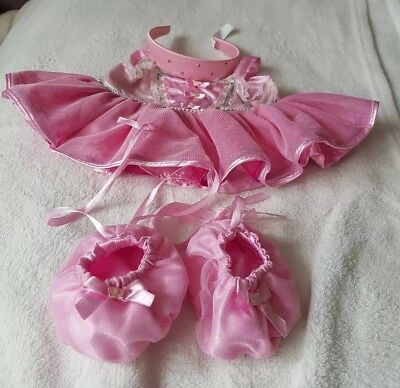Build a bear ballet outfit. Excellent condition