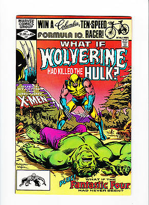 """What If... #31 """"What If Had Wolverine Killed The Hulk?"""""""