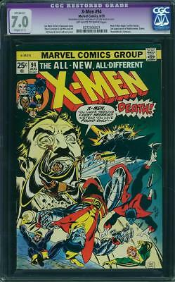 The X-Men #94 (Aug 1975, Marvel) CGC 7.0 Restored Slight C-1