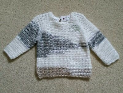Zara baby girl knitwear  9 to 12 months pullover sweater