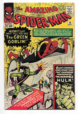 The Amazing Spider-Man #14 (Jul 1964, Marvel)