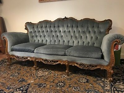 French armchair 3 Seater Sofa And Armchair