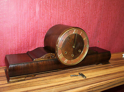 * Antique Table Clock Westminster* Mantel Clock Chime Clock *