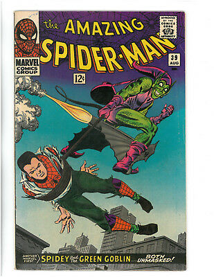 The Amazing Spider-Man #39 (Aug 1966, Marvel) Copy A