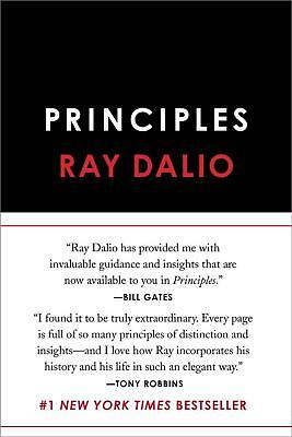 Principles: Life and Work by Ray Dalio Hardcover Book Free Shipping!