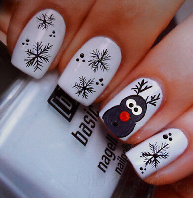Weihnachten NailArt Sticker Aufkleber  Nageldesign Tattoo 130