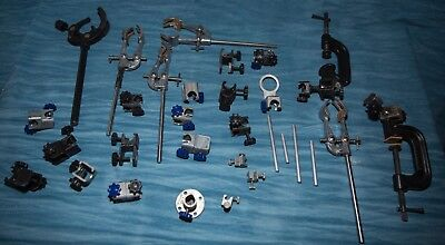 Lab/Animation clamps Climpex/Gallenkamp. various. items check photo!