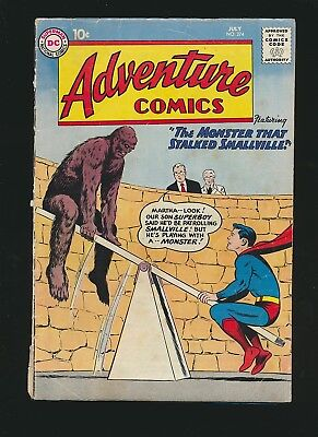 Adventure Comics #274, 3.0/Good to VG