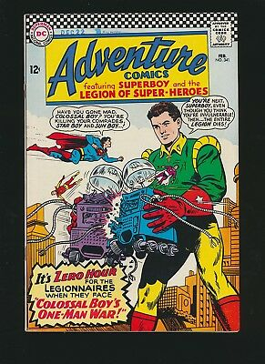 Adventure Comics #341, 8.0/VF