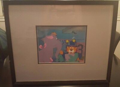 """Elleroo and Bumblelion from """"Wuzzles"""" Original Cel"""