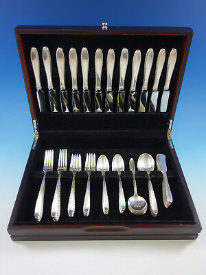 Southern Charm by Alvin Sterling Silver Flatware Set for 12 Service 72 pieces