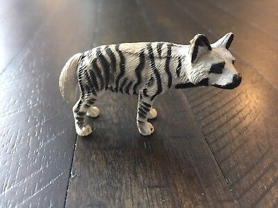 Rare! Play Visions Pv 1998 Animal Figure - African Striped Hyena