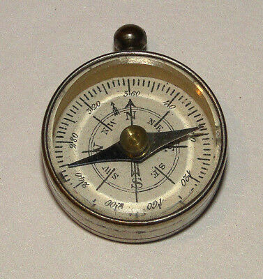 "VINTAGE TINY Small Approx 1"" COMPASS  FRANCE"